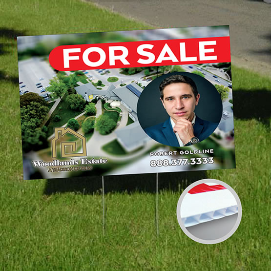 Yard Signs (Coroplast) main gallery image