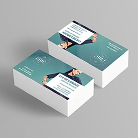 Silk Laminated Business Cards preview image